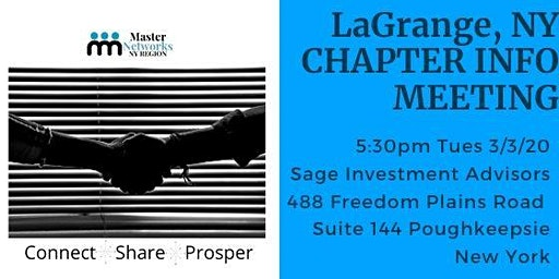 LaGrange Networking Info Meeting 3/3/20
