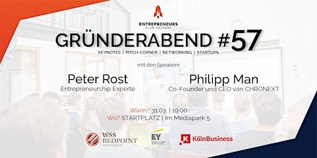 Gründerabend #57 Tickets