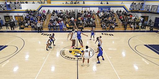 GNAC QUARTERFINALS - USJ Men's Basketball vs. Regis