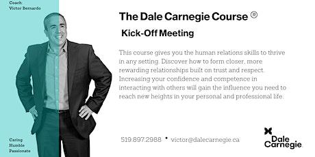 Dale Carnegie Course® - Kick-off (Kitchener) tickets