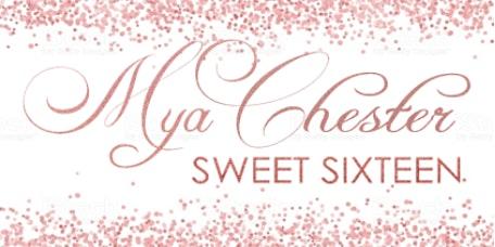 Mya's Sweet Sixteen