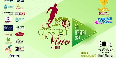 Carrera del Vino 2020 - 8va. Edición. 1° Fecha Circuitos ALTO RUNNING entradas