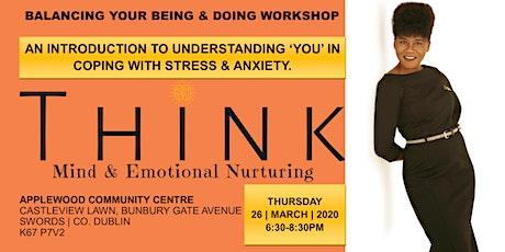 Self-Coaching Awareness Workshop – Balancing Your BEING & DOING tickets