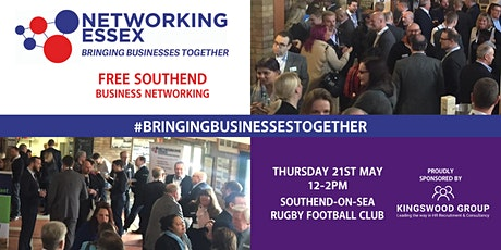 (FREE) Networking Essex in Southend Thursday 21st May 12pm-2pm tickets