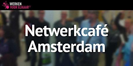 Netwerkcafé Amsterdam: Laat positiviteit voor je werken tickets