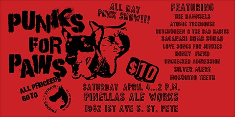 Punks For Paws volume 2! tickets
