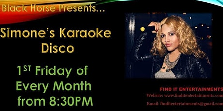 Karaoke With Simone Aird tickets