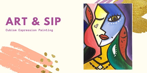 Art & Sip: Cubism Expression Painting