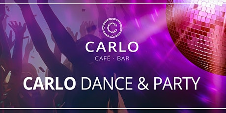 Kostenloser Welcome Shot beim ESC Public Viewing & Classics Party I CARLO Dance & Party Tickets