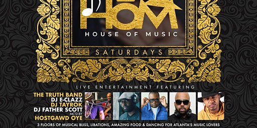 Intro: HOUSE of MUSIC•The All-New Hо̄M for Saturday Nights @WhiskyMistress!