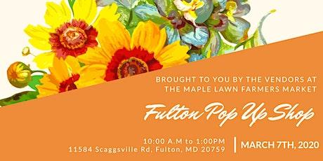 Fulton Pop Up Shop tickets