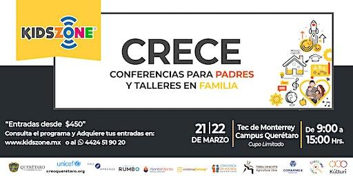 CRECE - Conferencias para Padres y Talleres en Familia