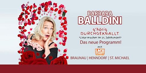 Barbara Balldini // St. Michael// g'hörig DURCHGEKNALLT