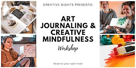 Art Journaling & Creative Mindfulness Workshop  - Creative Nights Tickets