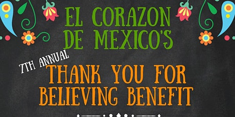 7th Annual Thank You for Believing Benefit tickets