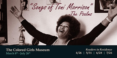 Songs of Toni Morrison - The Psalms tickets