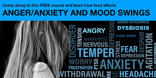 How food affects  ANGER, ANXIETY and MOOD SWINGS!