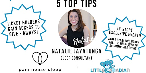Natalie's Top 5 Tips To Get Your Baby To Sleep