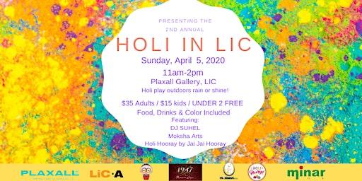 Holi in LIC 2020