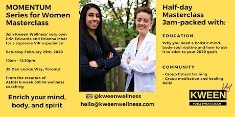 MOMENTUM Women's Wellness Masterclass tickets