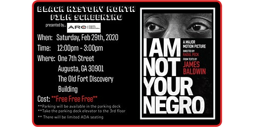 Black History Month - Film Screening