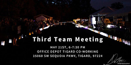 Third Team Meeting (May) Tigard/Tualatin Area Relay For Life 2020 tickets