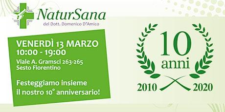 10 anni di NaturSana tickets
