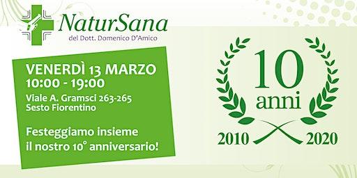 10 anni di NaturSana