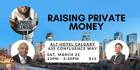 RAISING PRIVATE MONEY FOR REAL ESTATE tickets