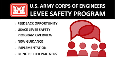 USACE Public Meeting on the Levee Safety Program Engineer Circular tickets