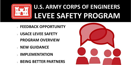 USACE Public Meeting on the Levee Safety Program Engineer Circular