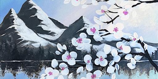 Blossom Moon Brush Party – Banbury