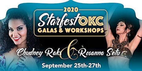Starfest OKC 2020 w/ Chudney Raks & Rosanna Setu tickets