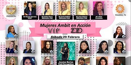 Mujeres Ambit en Acción VIP 2020 tickets