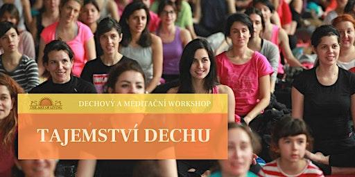 """Tajemství dechu"""" - Seminář o dechu a meditaci v Plzni"""