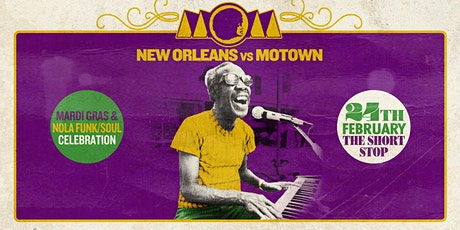 NEW ORLEANS vs. MOTOWN - MOM LA Mardi Gras Celebration [2/24] tickets