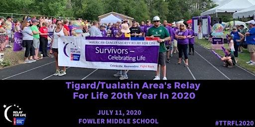 2020 Tigard/Tualatin Area Relay For Life
