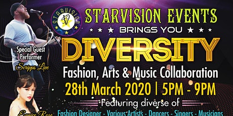 """Diversity"", Fashion, Art & Music in one show tickets"