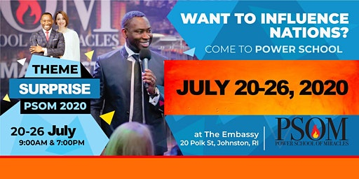 POWER SCHOOL OF MIRACLES - JULY 20-26, 2020