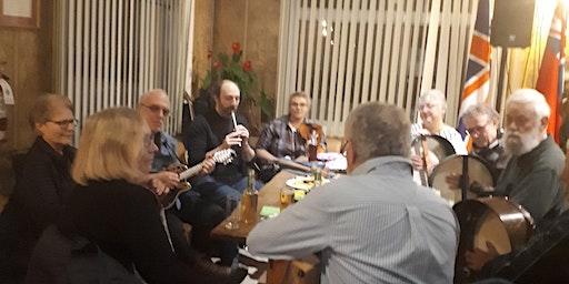 Traditional Irish Music Sessions