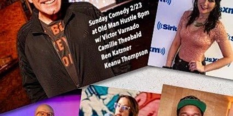 Free Standup Comedy Show every Sunday 8pm at Old Man Hustle (39 Essex St) tickets