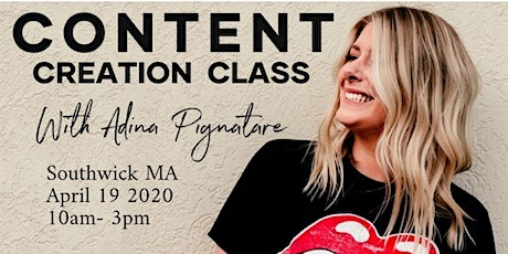 Content Creation Class tickets