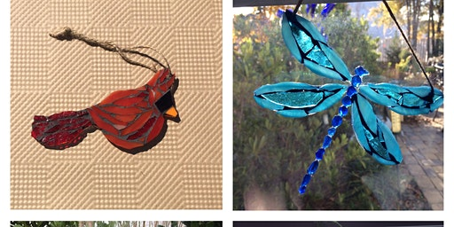 Create a stained glass mosaic suncatcher