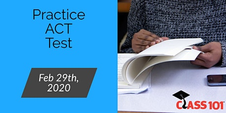 Free Practice ACT Test tickets