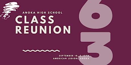 Anoka High School Class of 1963 Class Reunion tickets