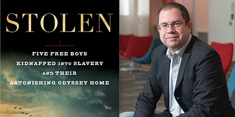 Author Talk - Richard Bell   Stolen: Five Free Boys Kidnapped into Slavery tickets