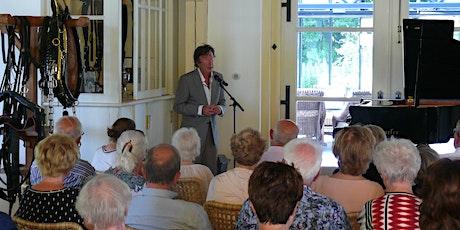 Zomerconcert Laurens van Rooyen in Koetshuis met rondvaart over de Vecht tickets