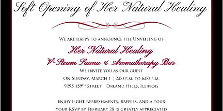 Her Natural Healing - The Unveiling tickets