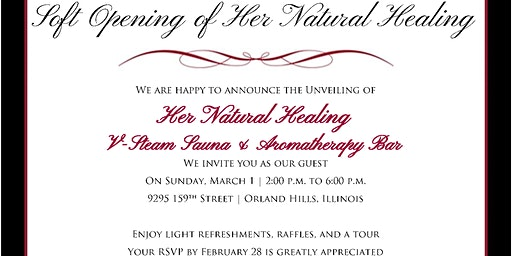 Her Natural Healing - The Unveiling