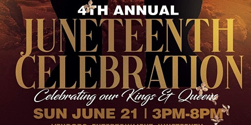 4th ANNUAL JUNETEENTH CELEBRATION